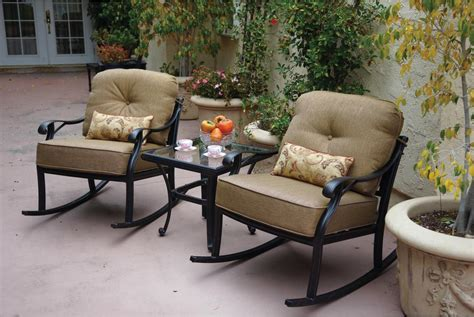 Patio Seating by Patio Furniture Seating Club Rockers Cast Aluminum