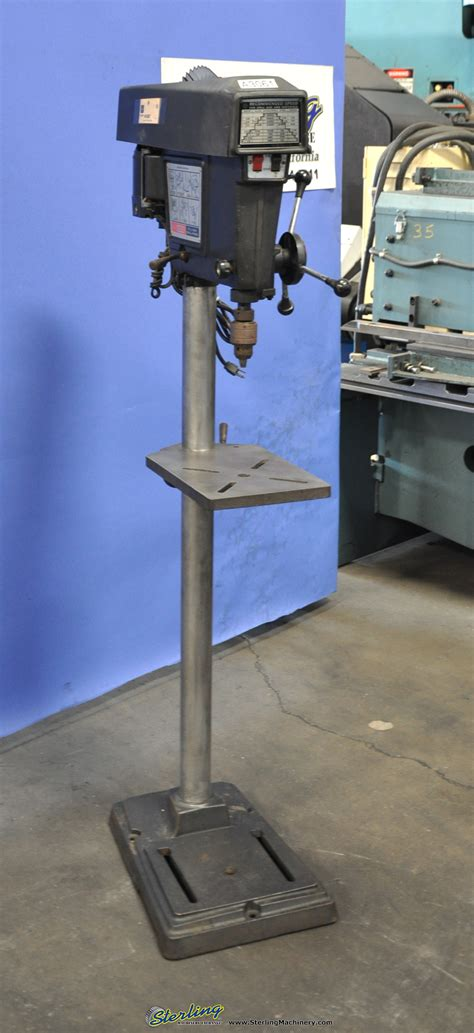 Craftsman Floor Standing Drill Press by Used Craftsman Floor Drill Press Sterling Machinery