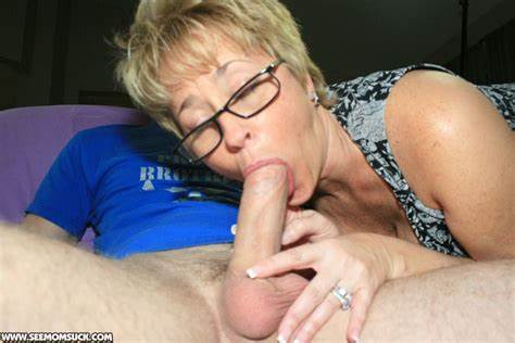 Old And Sexy Blond Blow Ride Her Lover