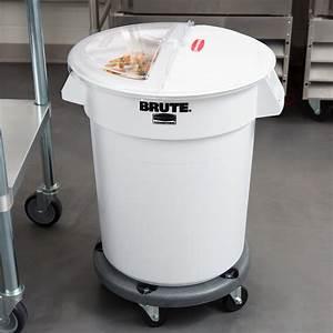 Rubbermaid Brute 20 Gallon Ingredient Storage Bin And