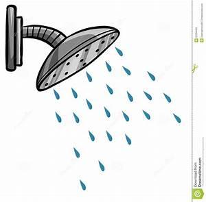 Shower Cartoon Vector 52334425