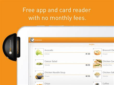 credit card reader for android payanywhere credit card reader android apps on play