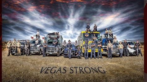 vegas strong photo campaign highlights  responders
