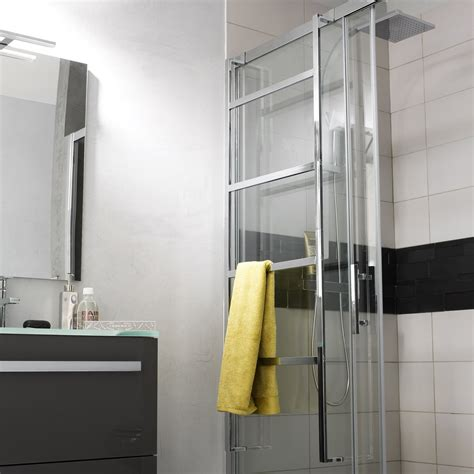 accroche serviette salle de bain porte serviettes 224 fixer ulna leroy merlin