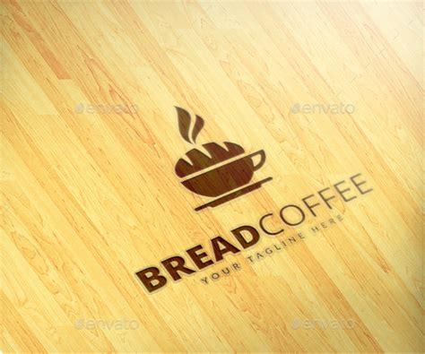 bread coffee logo template  maraz graphicriver