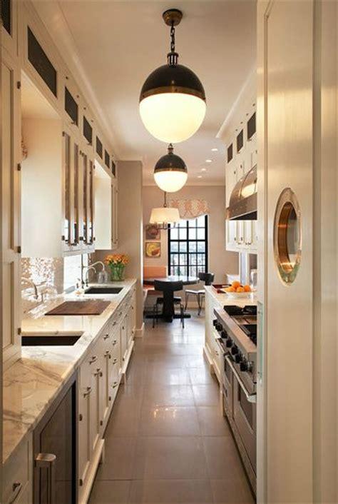 17 best ideas about narrow kitchen on