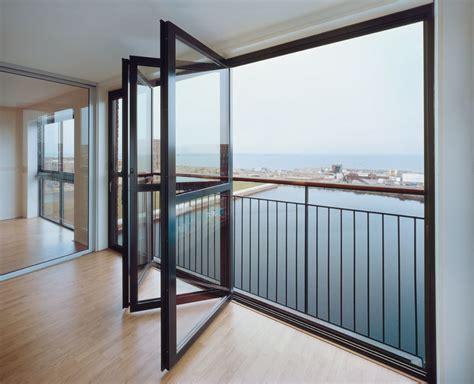 folding glass doors solarlux bifold doors low maintenance aluminium or timber