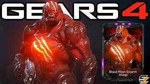 Gears Of War 4 QuotBlood Moon Swarm Imagoquot Character