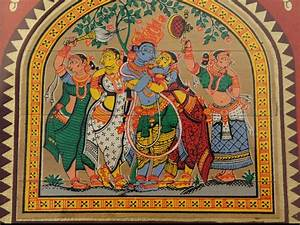 Pattachitra painting in Palm Leaf-Online Shopping-