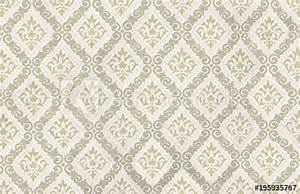 Alte Tapeten Ablösen : nostalgisches vintage tapetenmuster mit lilien ornamenten ~ Watch28wear.com Haus und Dekorationen