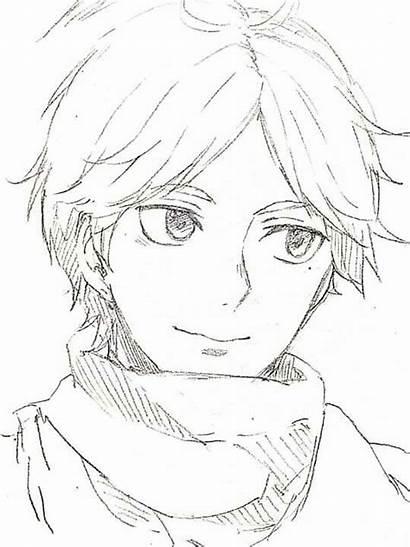 Haikyuu Drawing Drawings Anime Suga Boy Easy