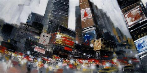 City In Motion Painting From Urban Barn Central Ottawa