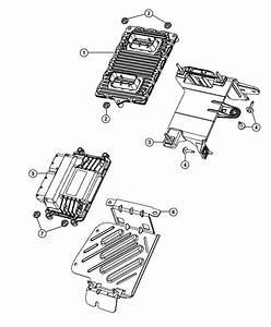 Dodge Dart Module  Engine Controller