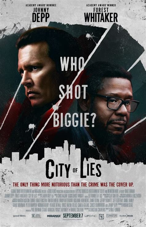 city  lies poster asks  shot biggie flickering myth
