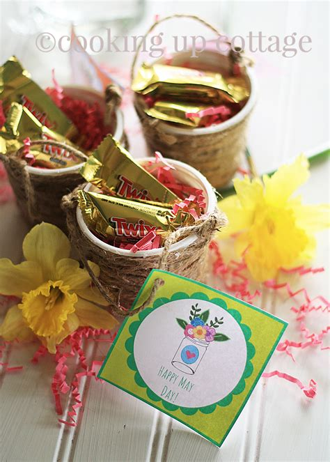 may basket day may day printable and basket cooking up cottage