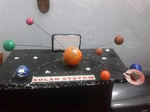 Solar System Model Project On Thermocol - Pics about space
