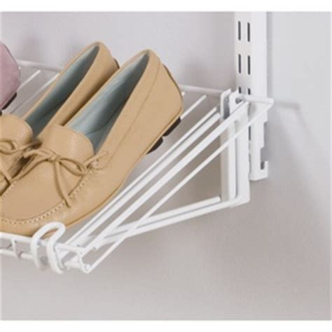 Rubbermaid HomeFree Series Shoe Shelf Brackets   For the