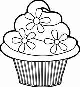 Coloring Cupcake Pretty Cakes Cream Cup Printable Ice Successful Muffin Template Ausmalbilder Sheets Birthday Ausmalbild Ingrahamrobotics Wecoloringpage sketch template