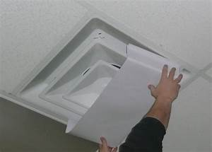 How to install ceiling vent covers modern design