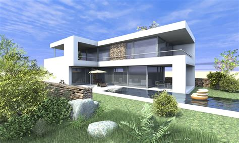 Moderne Küchen L Form by Architektenhaus L Form Bauen Moderne Architektur Home