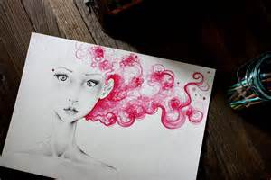 Abstract Pencil Drawing Ideas