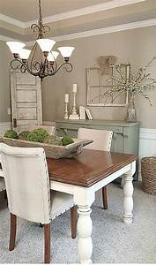 Modern Rustic Farmhouse Dining Room Style (22) - Onechitecture