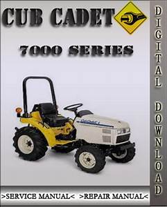 Cub Cadet 7000 Series Compact Tractor Factory Service