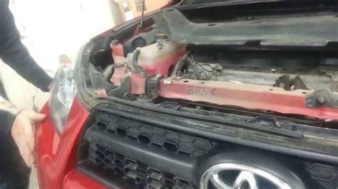 2010 Toyota Rav 4 (frozen Windshield Washer Fluid Inside