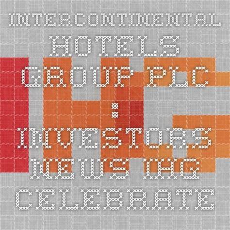 InterContinental Hotels Group PLC : Investors - News - IHG ...