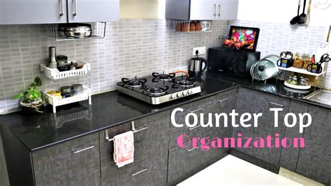 kitchen countertop storage ideas kitchen organization ideas countertop organization 4312