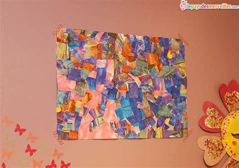 idee peinture cuisine peindre avec une carte et réaliser un tableau graphique