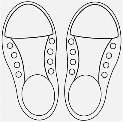 Shoe Tie Craft Lace Learning Template