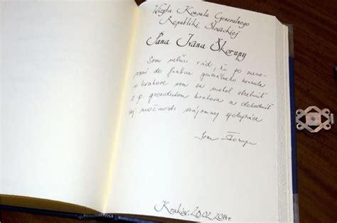 Visite De Le Consul Général De Slovakie à Cracovie, Ivan