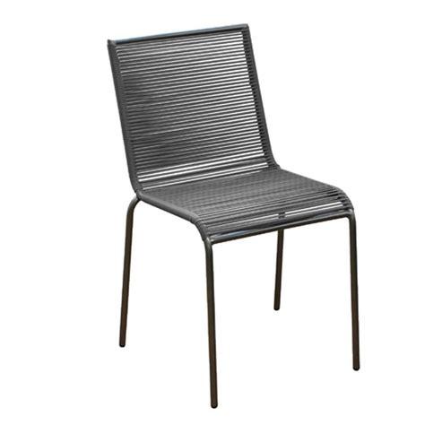 chaise d ext rieur fil plastique pour chaise maison design mochohome com