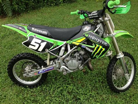 kawasaki motocross bikes buy 2005 kawasaki kx85 dirt bike on 2040 motos