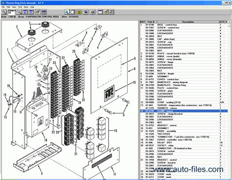 thermo king spare parts catalog repair manual download wiring diagram electronic parts
