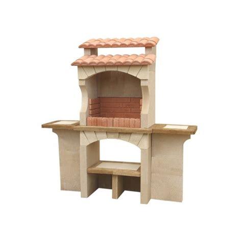 repose livre cuisine barbecue extérieur en traditionnel en brique béton pas cher cordoue