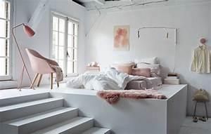 salle de bain verte et grise With chambre blanche et rose