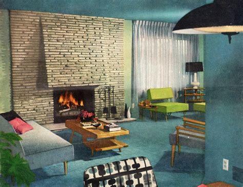 Home Interior 1960s :  Home Decor Of The 1960s