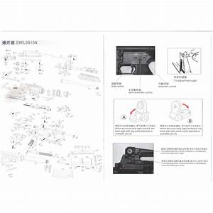 We Airsoft M4 M16a3 Cqbr Gbbr Rifle Diagram Low Price Of  0