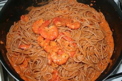 recette pates aux gambas recette spaghettis aux gambas facile et rapide