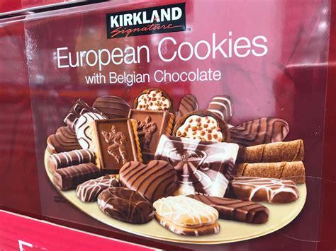 kirkland signature european cookies belgian chocolate