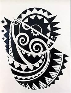 Maorie Tattoo Oberarm : sticker von beyond in speziellen farben online kaufen ~ Frokenaadalensverden.com Haus und Dekorationen
