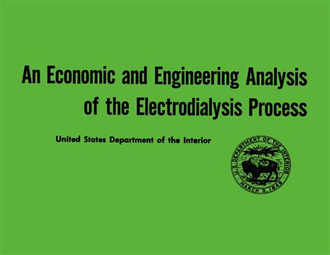 bureau for research and economic analysis of development office of saline waters research and development progress