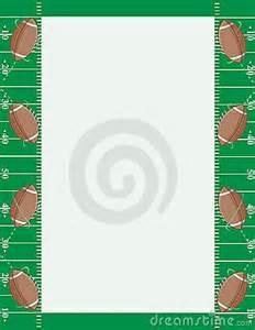 Football Field Clip Art Border