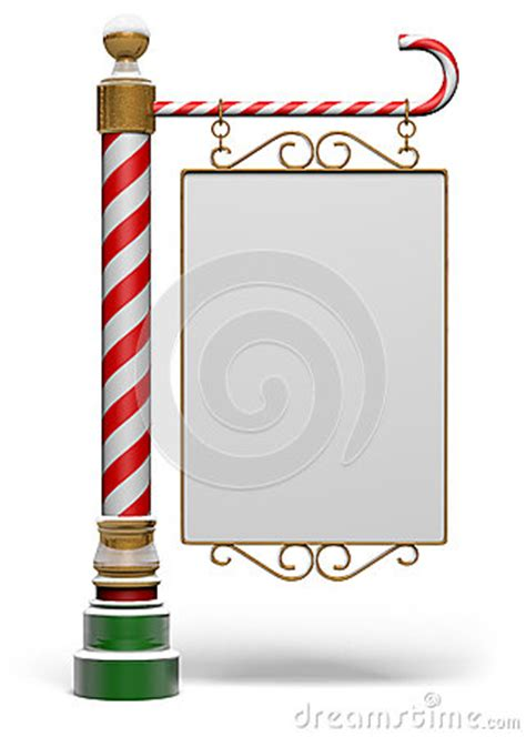 north pole sign stock photo image