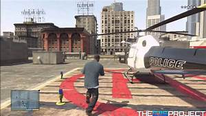 GTA 5 - How To Get The Police Helicopter Free and Easy ...