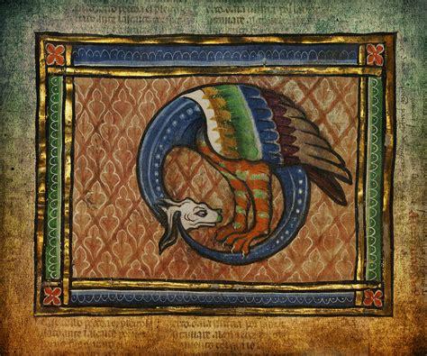 Ancient Dragon Celtic Art Digital Art by Terry Fleckney