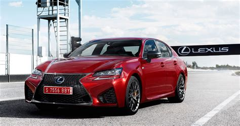 lexus gsf red lexus gs f in matador red mica