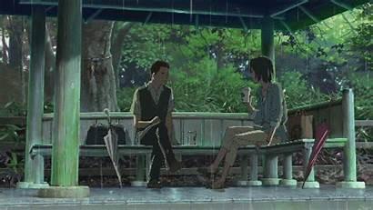 Words Garden Anime Kotonoha Gifs Romance Giphy